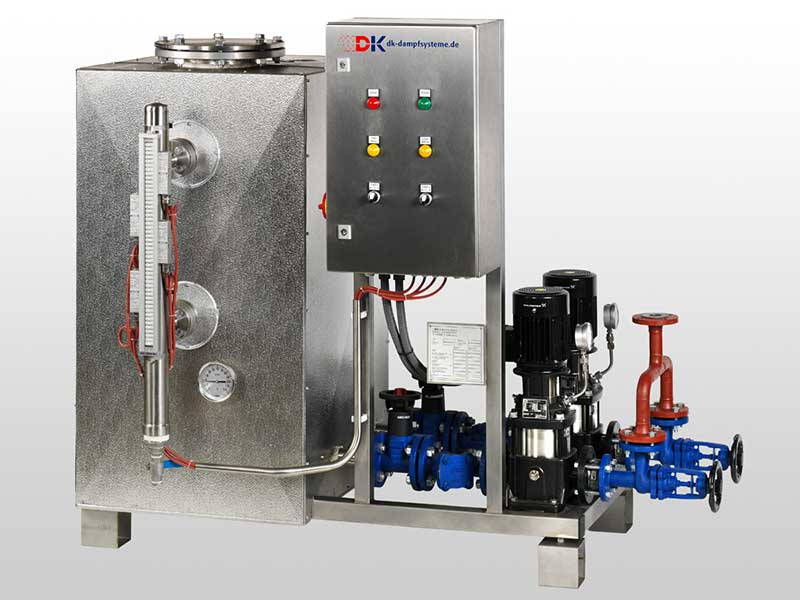 Condensate Recovery Systems Dankl Dampfsysteme