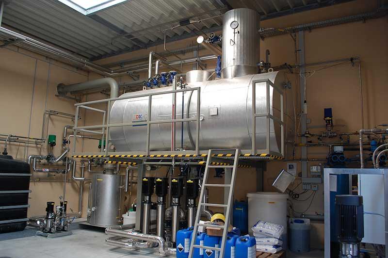 Turn Key boiler houses - Dankl Dampfsysteme